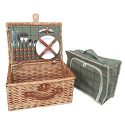 Picnic hamper 2 person 41 x 30 x 19cm