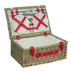 Picnic hamper 4 person 46 x 30 x 19cm