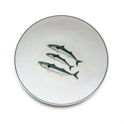 Seaflower Collection Dinner plate, 28cm, Mackerel