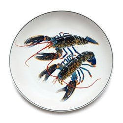 Seaflower Collection Charger plate, 32cm, Blue Lobster