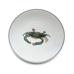 Seaflower Collection Dinner plate, 28cm, Blue Crab