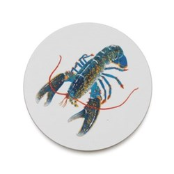 Seaflower Collection Coaster, 10cm, Blue Lobster