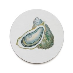 Seaflower Collection Coaster, 10cm, Oyster