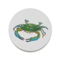 Seaflower Collection Coaster, 10cm, Blue Crab
