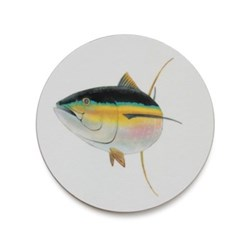 Seaflower Collection Coaster, 10cm, Tuna