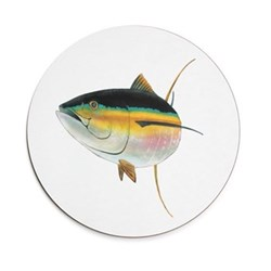 Seaflower Collection Tablemat, 28cm, Tuna