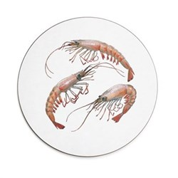 Seaflower Collection Tablemat, 28cm, Shrimp