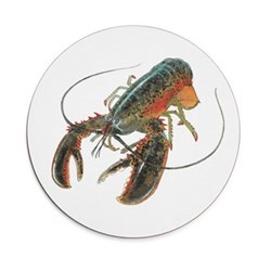 Seaflower Collection Tablemat, 28cm, American Lobster