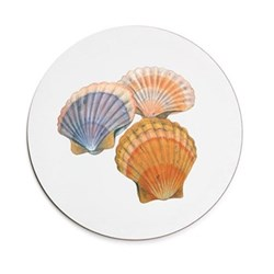 Seaflower Collection Tablemat, 28cm, Scallop