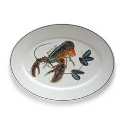 Large oval platter 42cm