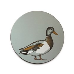 Faunus Coaster, 10cm, Mallard