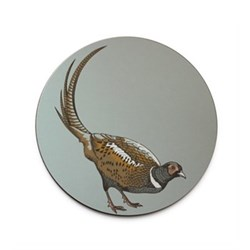 Faunus Coaster, 10cm, Pheasant