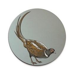 Faunus Round tablemat, 25.5cm, Pheasant