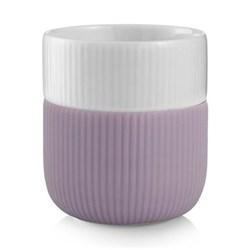 Fluted Contrast Mug, 33cl, heather