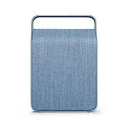 Oslo Wireless loudspeaker, portable, 26.8 x 18.1 x 9cm, ocean blue, kvadrat textile