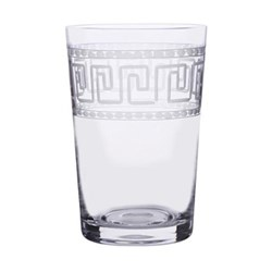 Greek Key Set of 6 tumblers, 210ml