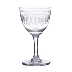Ovals Set of 6 liquer glasses, 80ml