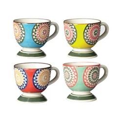 Florya Set of 4 espresso mugs, H7cm