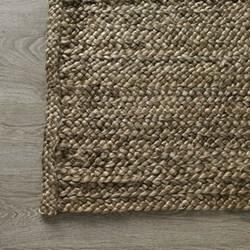 Jute braided rug 240 x 170cm