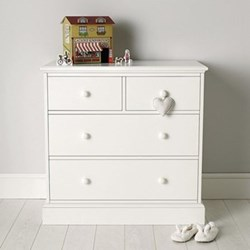 Chest of 4 drawers 89 x 90 x 50cm