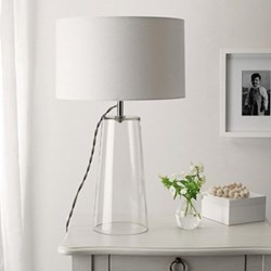 Bowery Table lamp, 54.5 x 33cm, white