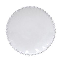 Pearl Set of 6 bread plates, 17cm, white