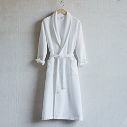 Unisex bath robe medium