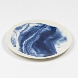 Indigo Storm - Swirl by Faye Toogood Dessert/salad plate, D23cm
