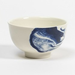 Indigo Storm - Swirl by Faye Toogood Cup, D10 x H6cm