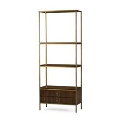 Rufus Bookcase, H194 x W76 x D36cm