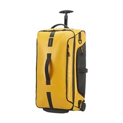 Paradiver light Duffle bag with wheels, 67cm, yellow