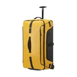 Paradiver light Duffle bag with wheels, 79cm, yellow