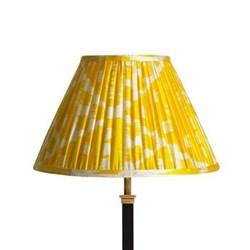 Ikat printed lampshade 30cm