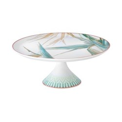 Fiji Small footed cake plate