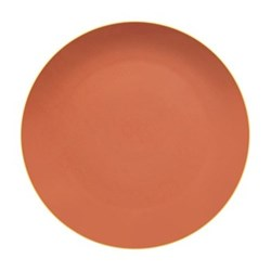 Mar Charger plate, salmon