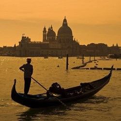 Gondola trip for two