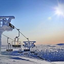 Ski lift passes for two