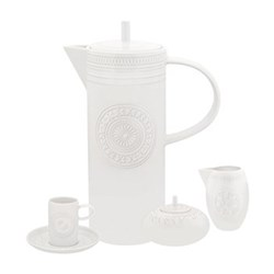 Ornament 15 piece coffee set