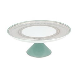 Large footed cake plate