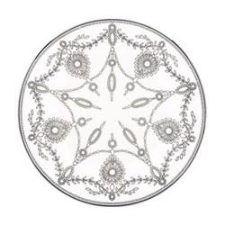 Empire Pearl Accent plate