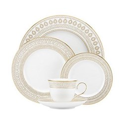 Gilded Pearl 5 piece place setting