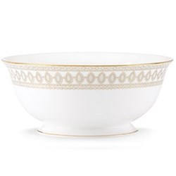 Gilded Pearl Serving bowl