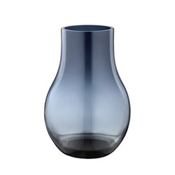 Cafu Vase small, deep blue glass