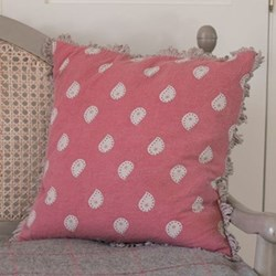 Mika Cushion, 45 x 45cm, rose