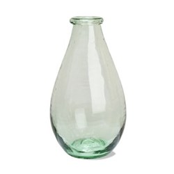 Broadwell Extra large glass vase, H29m x W15cm, glass