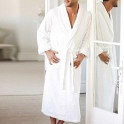 Unisex bath robe medium