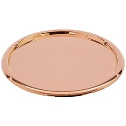 Brew Coffee tray, D42cm, copper