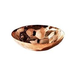Hex Small bowl, D18 x H6.5cm, copper