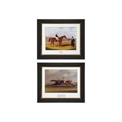 Pair of prints 73 x 62cm