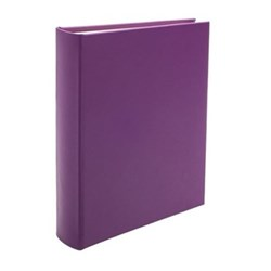 Chelsea Portrait photo album, 31.1 x 24.1cm, pansy leather